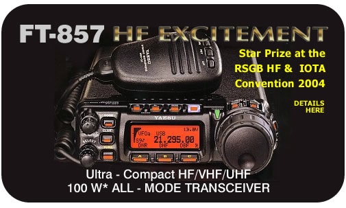 YAESU FT857D + YSK857  IN CAR KIT