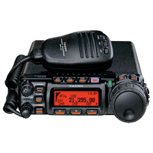 YAESU FT857D + YSK857  IN CAR KIT FREE