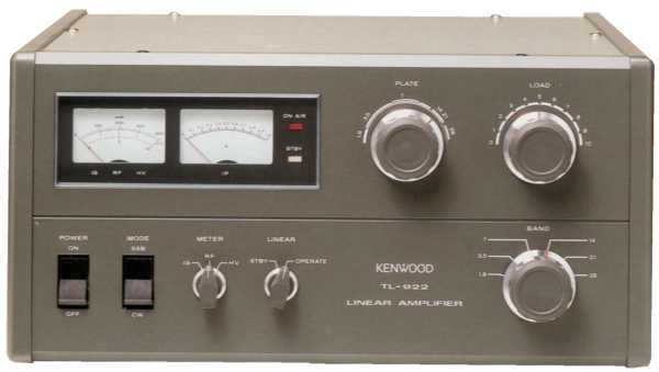 KENWOOD TL-922 HF LINEAR AMPLIFIER